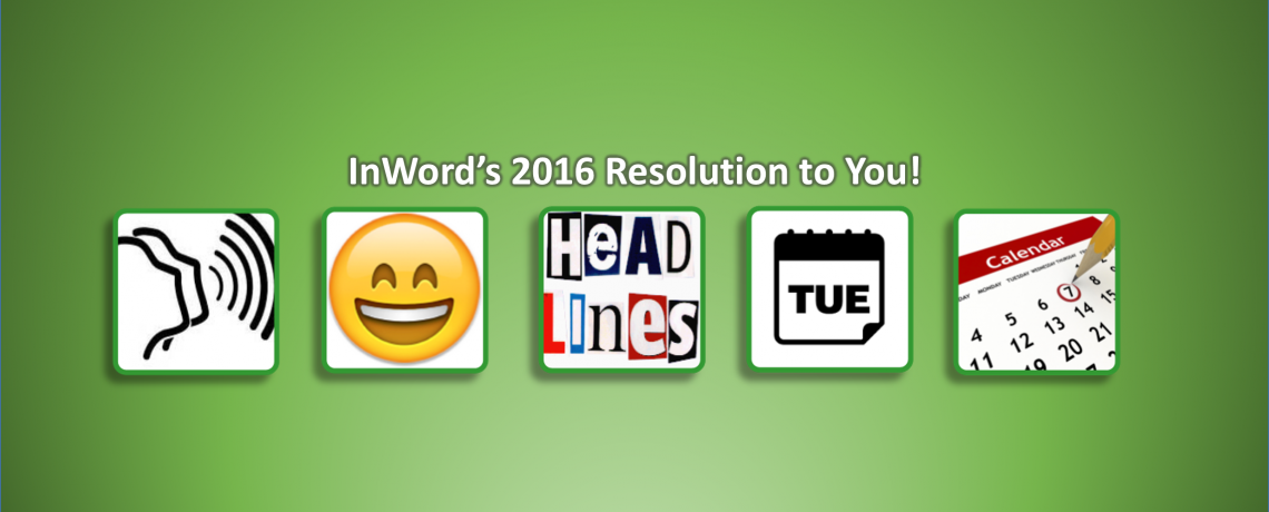 InWord's 2016 Resolution to You!