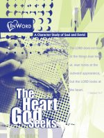 The Heart God Seeks COVER Snip It