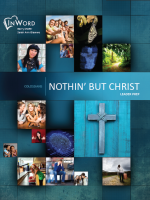 Nothin' But Christ | InWord Resources