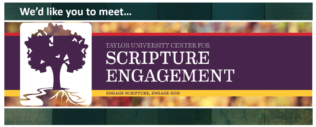 A Key Ally in Bible Engagement